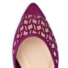 L.K. Bennett Mikaila suede flats