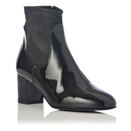 L.K. Bennett Shelley patent leather ankle boots