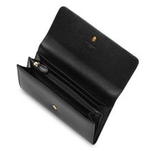 Sonia saffiano leather wallet