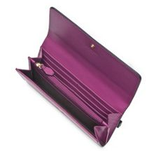 L.K. Bennett Sonia saffiano leather wallet