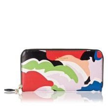 Kenza saffiano leather wallet