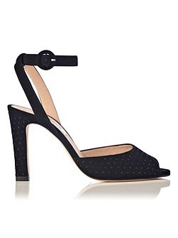 Sansa suede high heel sandals