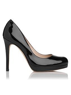 Sledge round toe court shoes