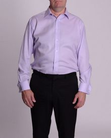 Double TWO Non iron micro twill shirt