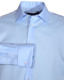 Double TWO Plain Long-Sleeve Shirt
