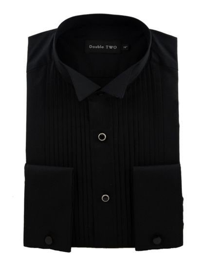 Double TWO Stitch pleat dress shirt