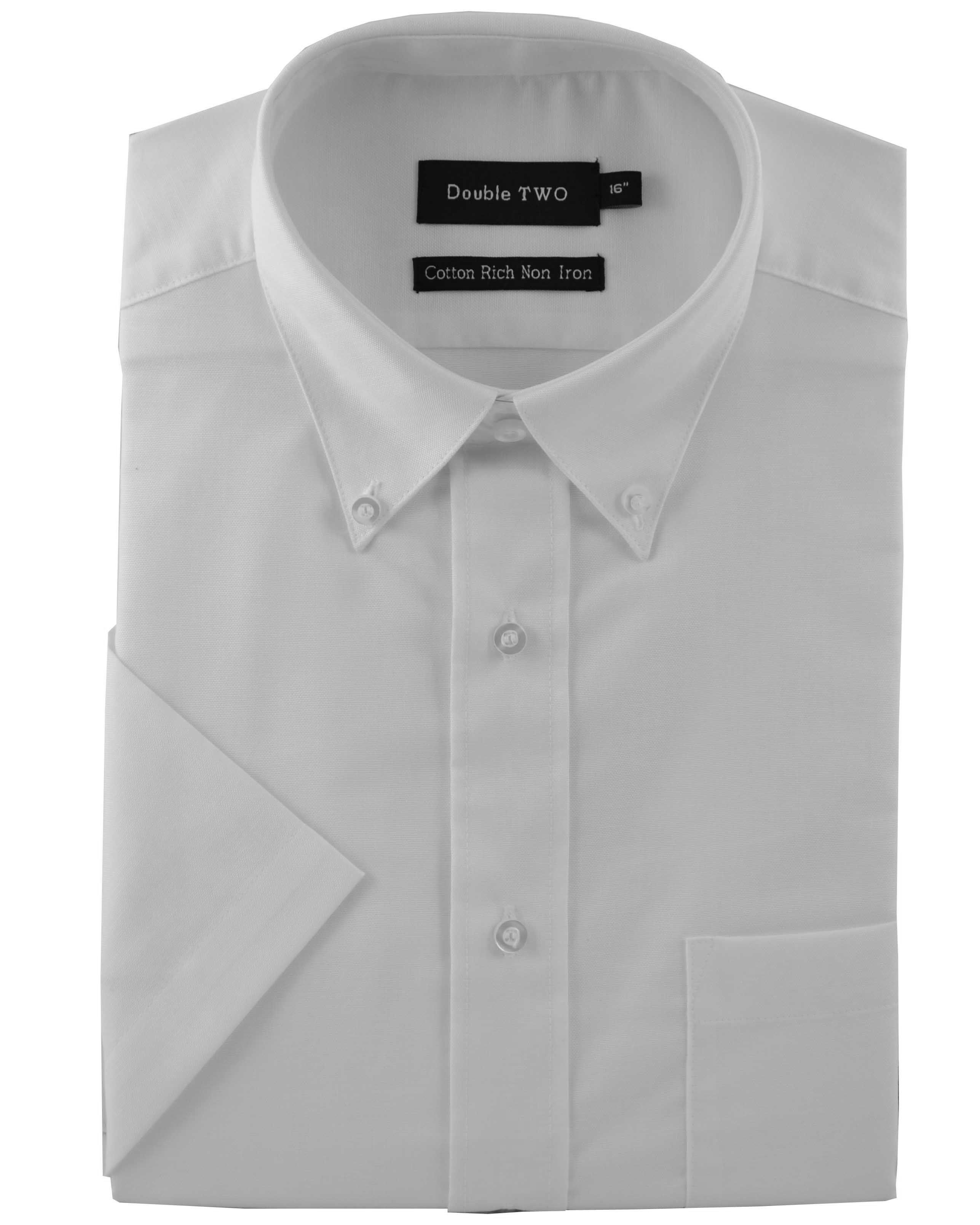 Half sleeve oxford formal shirt