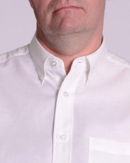 Double TWO Long Sleeve Oxford Button Down Shirt