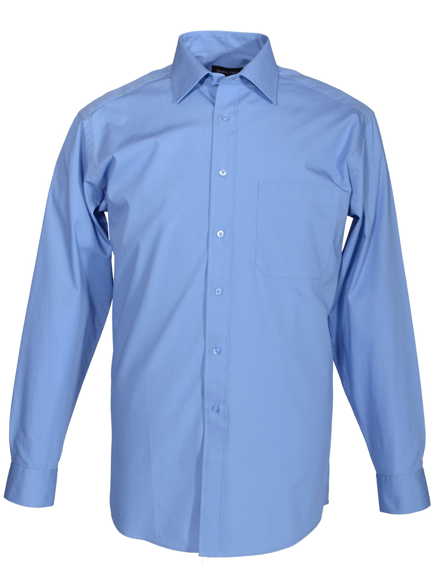 Long Sleeve 100% Cotton Poplin