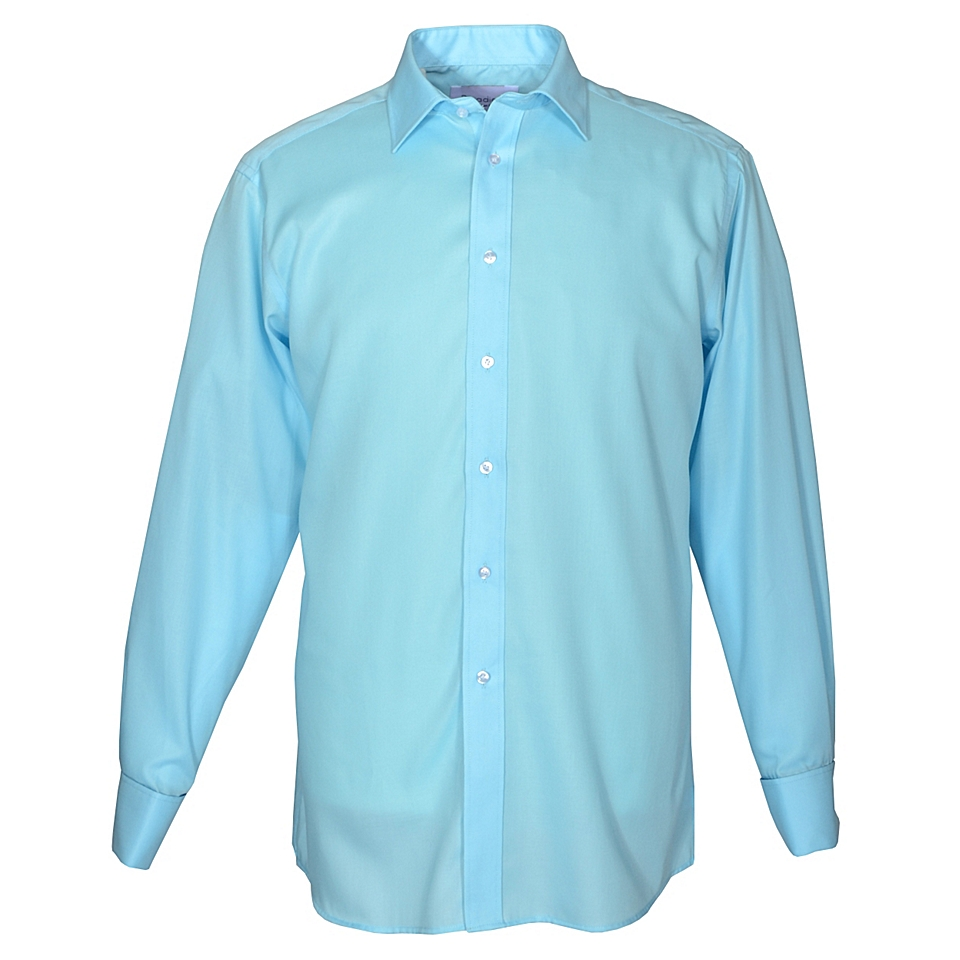 Double TWO King Size Non Iron Formal Shirt Blue