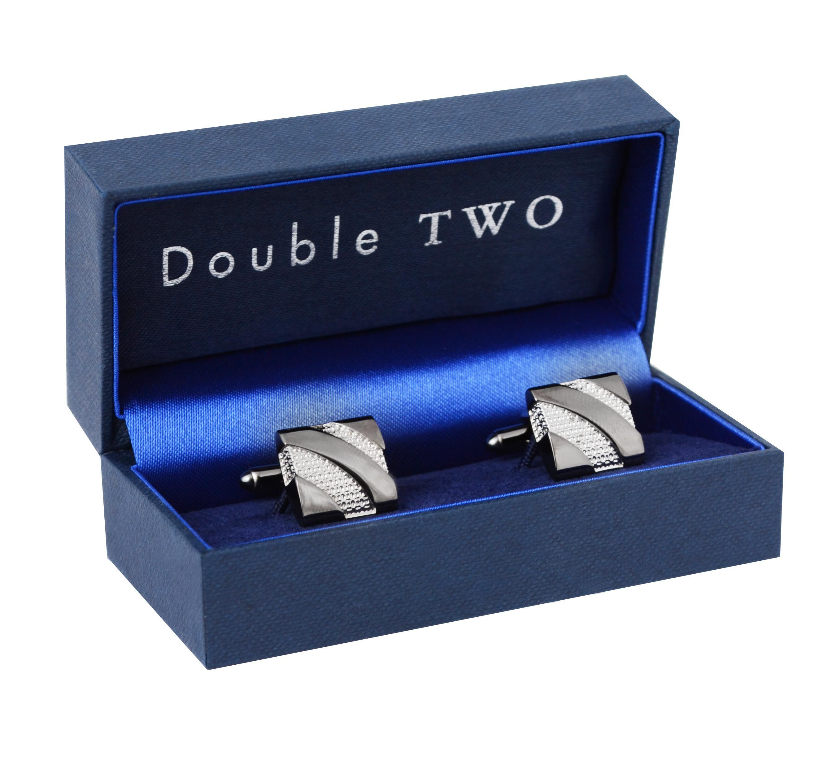 Square detailed cufflinks