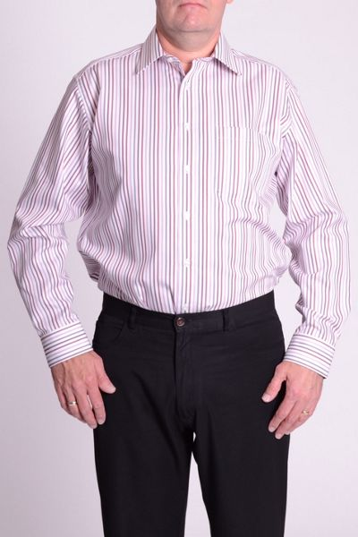 Double TWO Non iron long sleeve formal shirt