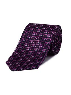 Square polyester tie