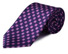 Double TWO Floral tie