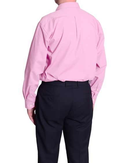 Double TWO Plain Classic Fit Long Sleeve Classic Collar Form