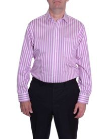 Striped Classic Fit Long Sleeve Formal Shirt