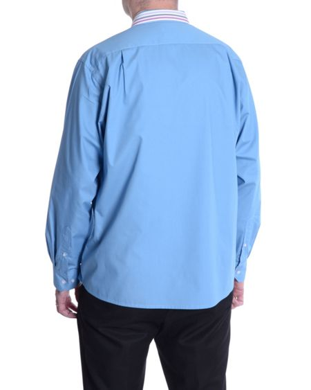 Double TWO Plain Classic Fit Long Sleeve Shirt