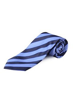Clip On Stripe Tie
