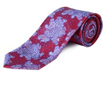 Double TWO Extra Long Paisley Tie
