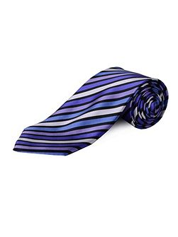 Extra Long Stripe Tie
