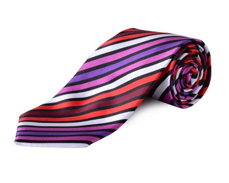 Double TWO Extra Long Stripe Tie