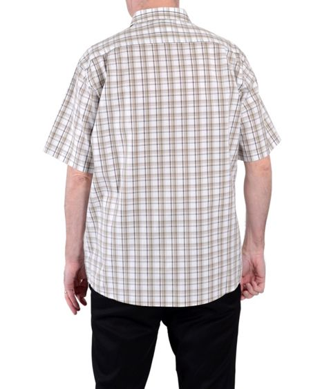Double TWO Check Classic Fit Classic Collar Shirt