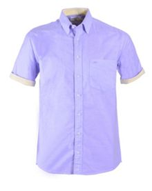 Double TWO Plain Classic Fit Button Down Shirt