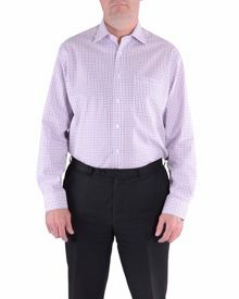 Check Classic Fit Classic Collar Formal Shirt