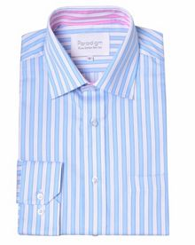 Stripe Classic Fit Classic Collar Formal Shirt