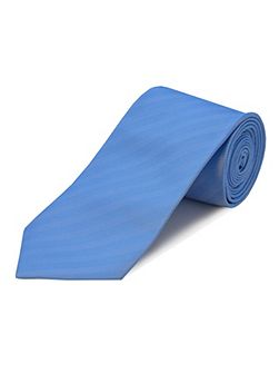 Herringbone Self Stripe Polyester Tie