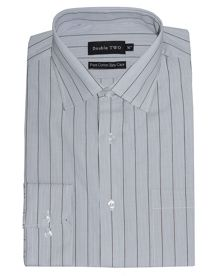 King size double two formal shirt
