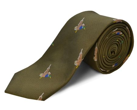 Double TWO polyester duck tie