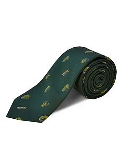 Polyester fish hooks tie