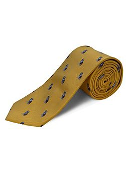 Polyester dogs tie