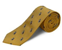 Double TWO Polyester dogs tie