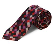 polyester square tie