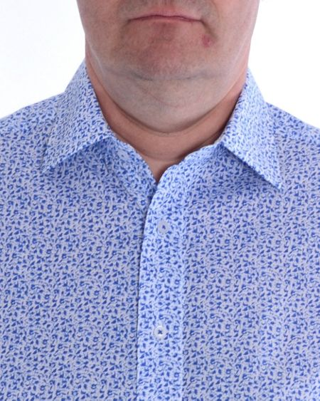 Double TWO Floral Formal Shirt