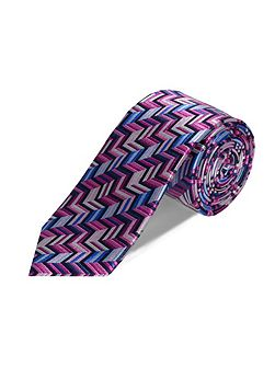 Double Two Patterned Tie