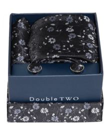 Double TWO Double Two Patterned Tie Gift Set