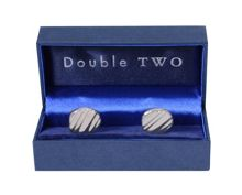 Double TWO Double Two Cuff Links