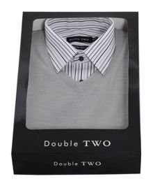 Double TWO Double Two Shirt & Jumper Set