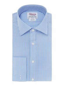 TM Lewin Gingham Check Prince of Wales Shirt