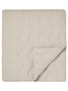 Designers Guild Aurelia throw 170x220cm natural