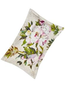 Designers Guild Floreale grande embroidered oxford pillowcase