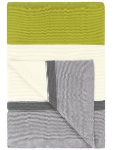 Designers Guild Bellariva dove cotton blanket 140x200cm