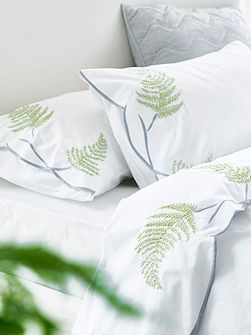 Tulipani embroidered housewife pillowcase
