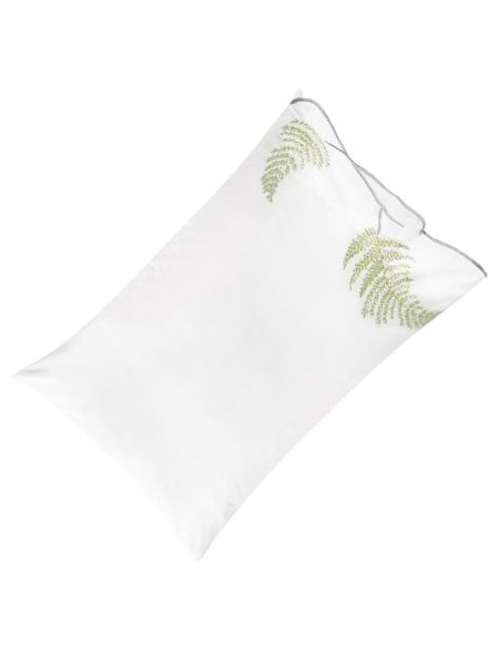 Designers Guild Tulipani embroidered housewife pillowcase