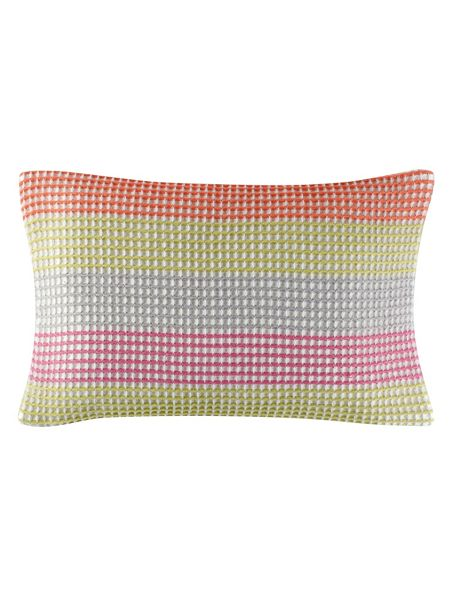 Designers Guild Hiranya cushion 50X30cm graphite