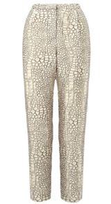 Dragon Skin Print Trouser