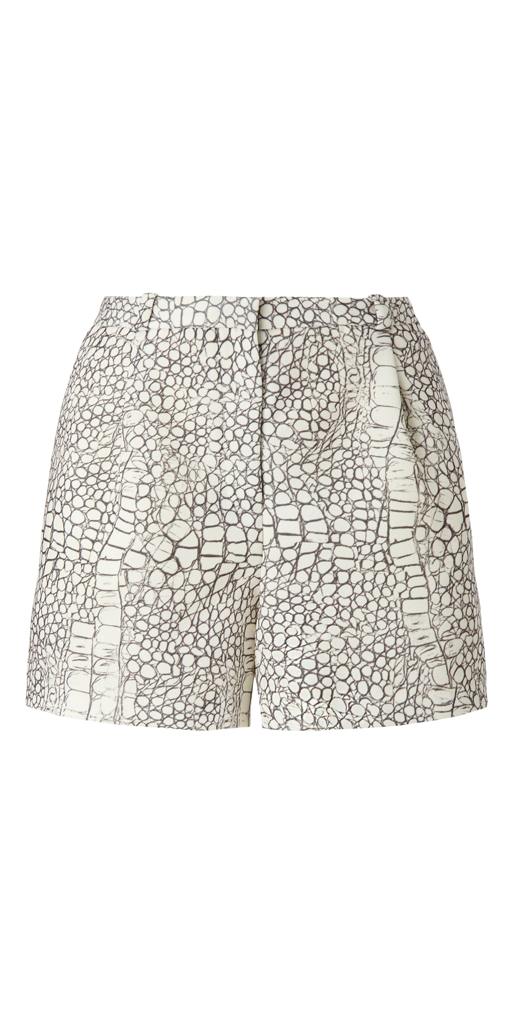 Dragon Skin Print Shorts